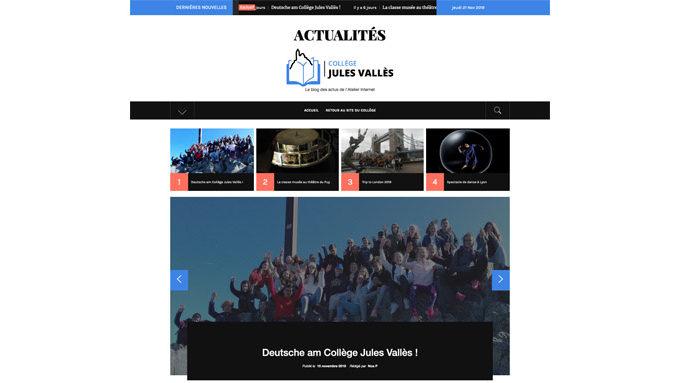 Blog des actualités du Collège Jules Vallès, Le Puy-en-Velay
